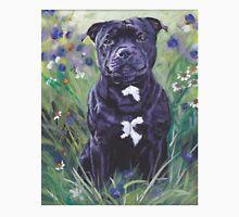 Staffordshire Bull Terrier Fine Art Painting Unisex T-Shirt