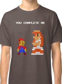 You complete me 8-bit mario Classic T-Shirt