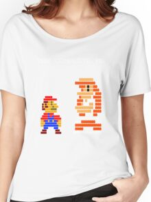 You complete me 8-bit mario Women's Relaxed Fit T-Shirt
