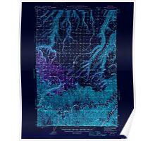 USGS Topo Map Washington State WA Anatone 239820 1946 62500 Inverted Poster