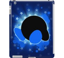 Super Smash Bros. Blue Kirby Silhouette iPad Case/Skin