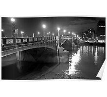Lambeth Bridge, London Poster