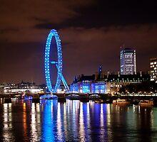 London Eye by Martin Jones