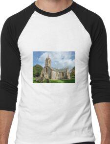 St Thomas Church Men's Baseball ¾ T-Shirt