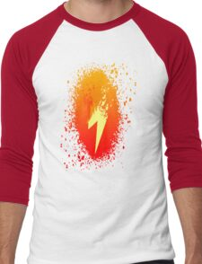 Spitefire's Cutie Mark Spray Paint Men's Baseball ¾ T-Shirt