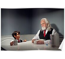Breakfast with a Ventriloquist Poster