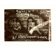 Switch Bitch Art Print