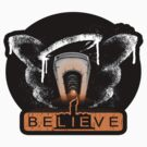 be LIE ve in science  STICKER by TrulyEpic