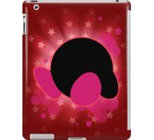Super Smash Bros. Red Kirby Silhouette iPad Case/Skin