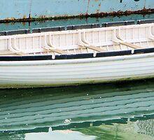 Clinker built boat by Woodie