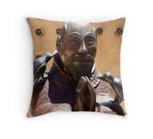 St. Francis at Chimayo Throw Pillow