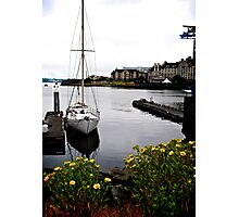 Alone On Still Water Photographic Print