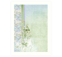 Wedding Lilies Art Print