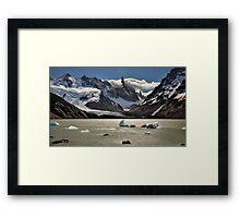 Laguna Torres Framed Print