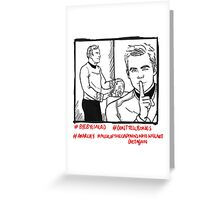 Kirk And Kirk And Salad Greeting Card