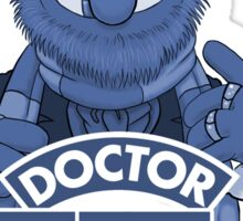 'Doctor Teeth' (The Muppets / Doctor Who - VERSION #1) Sticker