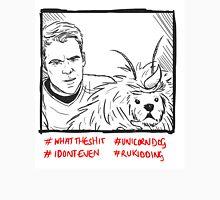 Kirk Meets UnicornDog Unisex T-Shirt