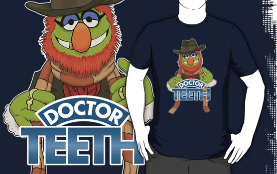 'Doctor Teeth' (The Muppets / Doctor Who - VERSION #2) by James Hance