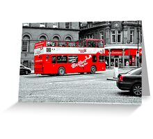 Belfast City Tour Greeting Card