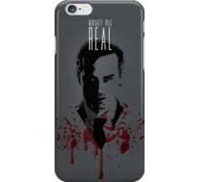 Moriarty Was Real (plain) iPhone Case/Skin