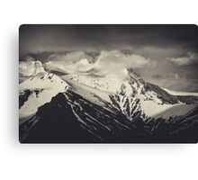 Cloudy Mountains V Canvas Print