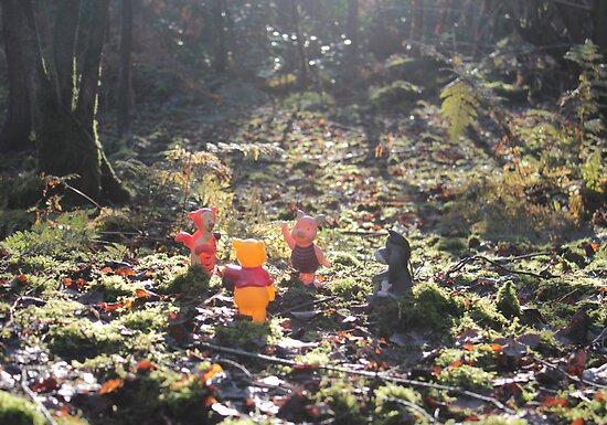 Deep in the Hundred-Acre Wood by missbrodrick