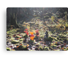 Deep in the Hundred-Acre Wood Canvas Print