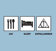 Eat Sleep Expelliarmus by ScottW93