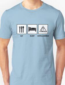 Eat Sleep Expelliarmus T-Shirt