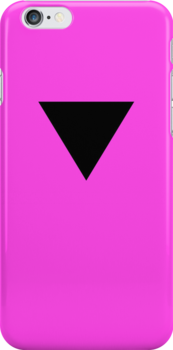 Black Triangle on Pink by x-pressions