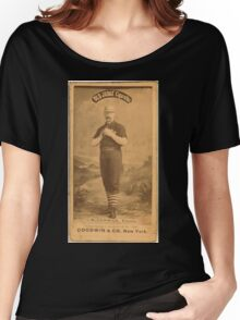 Benjamin K Edwards Collection Jim McCormick Chicago White Stockings baseball card portrait 001 Women's Relaxed Fit T-Shirt