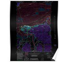 USGS Topo Map Oregon OR Astoria 278895 1949 24000 Inverted Poster