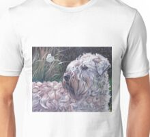 Soft-coated Wheaten Terrier Fine Art Painting Unisex T-Shirt