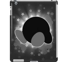 Super Smash Bros. White/Grey Kirby Silhouette iPad Case/Skin