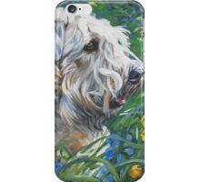 Soft-coated Wheaten Terrier Fine Art Painting iPhone Case/Skin