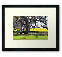 Thats Farming in Oz Framed Print