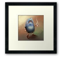 Tea Monster Framed Print