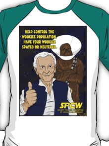 Have your wookiee spayed or neutered T-Shirt