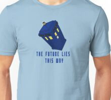 The future lies this way - Dr Who Unisex T-Shirt