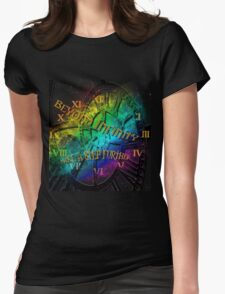 Beyond infinity-Time machine Womens Fitted T-Shirt