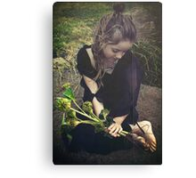 toes are like roots Canvas Print