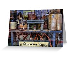 Window Display Greeting Card