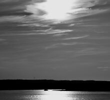 Afternoon Fishing   Hampton Bays, New York by © Sophie W. Smith