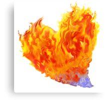 Heart Burn...BIG Canvas Print