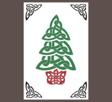 Celtic Christmas Tree (simple) One Piece - Short Sleeve