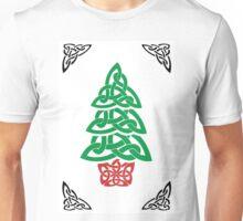 Celtic Christmas Tree (simple) Unisex T-Shirt