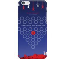 Diamonds Are Forever - Movie Poster iPhone Case/Skin
