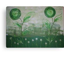 The green Scene Canvas Print