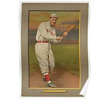 Benjamin K Edwards Collection Harry Niles Boston Red Sox Cleveland Naps baseball card portrait Poster