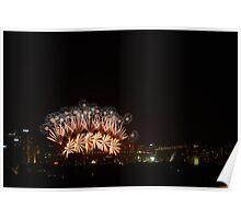 NYE 2012 Sydney Harbour Poster